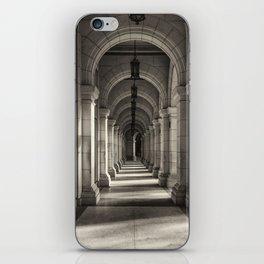 Underneath the arches in Havana, Cuba iPhone Skin