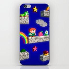 Inside Rainbow Islands iPhone Skin