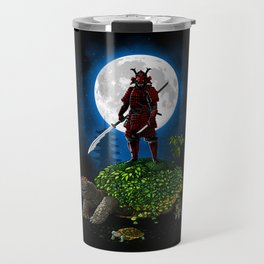 Samurai Turtle Travel Mug