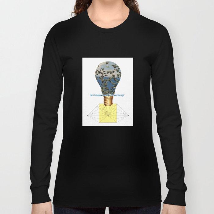 Ideas Come, Ideas Go Long Sleeve T-shirt