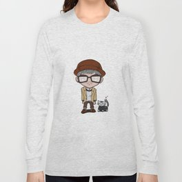 Cat and a Hat Long Sleeve T-shirt