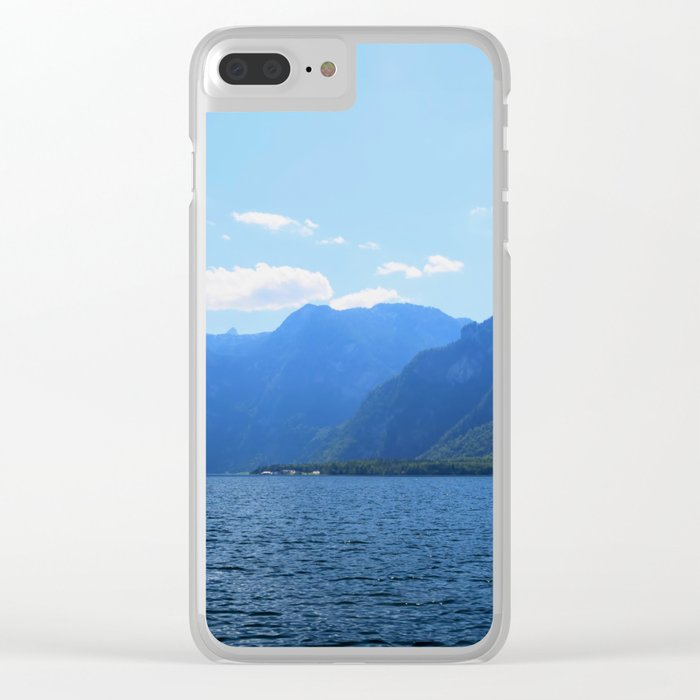 Koenigssee Lake with Alpes Mountains 2 Clear iPhone Case