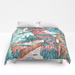 River Hoopoe Comforters