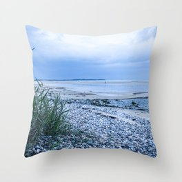 Sand & pebbles Throw Pillow