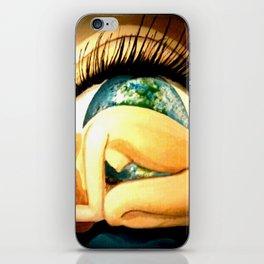 earths eye iPhone Skin