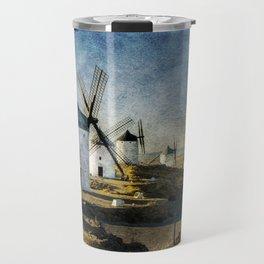 Windmills of Castilla la Mancha Travel Mug