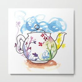 It's Tea-riffic! Metal Print