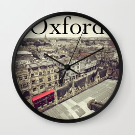Oxford gargoyle Wall Clock
