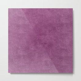 Amethyst Oil Pastel Color Accent Metal Print