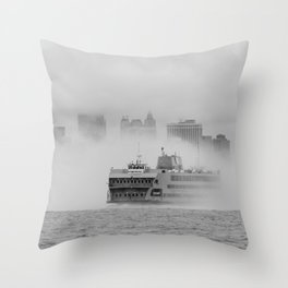 Out of the Mystic Throw Pillow