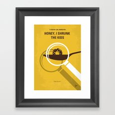 No641 My Honey I Shrunk the Kids minimal movie poster Framed Art Print