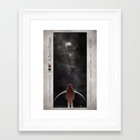 2001 a space odyssey Framed Art Prints featuring 2001: A Space Odyssey by Digital Theory