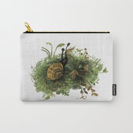 Mossy Snail Carry-All Pouch