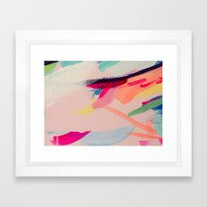 Wild Ones #2 - abstract painting Framed Art Print