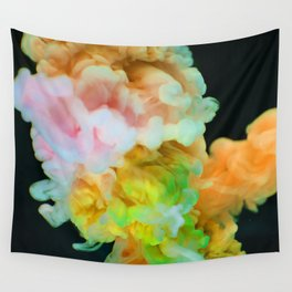 Color Fluff (Color) Wall Tapestry