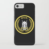 evangelion iPhone & iPod Cases featuring Evangelion Pilot Logo by Artist Meli