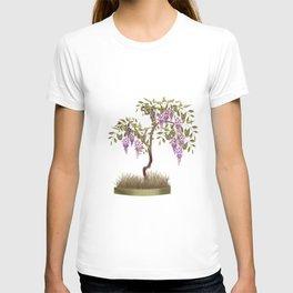 Wisteria . Tree . T-shirt