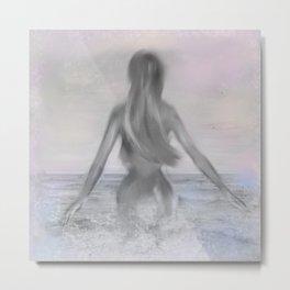 Mermaid Metal Print