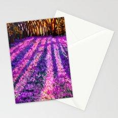 Purple Garden Stationery Cards