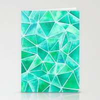 emerald Stationery Cards featuring Emerald by Jamworth