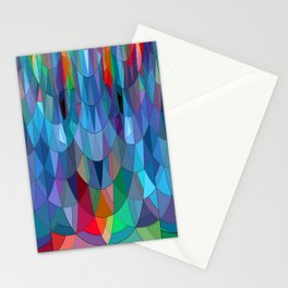 The Many Colors of the Mermaid.... Stationery Cards