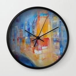 """""""City"""" by Diana Grigoryeva Wall Clock"""