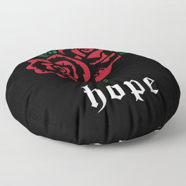 Rose Aesthetic Goth Soft Grunge Nu Goth Punk Gift Floor Pillow