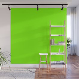 color chartreuse Wall Mural