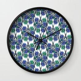 Swirly Pattern Wall Clock