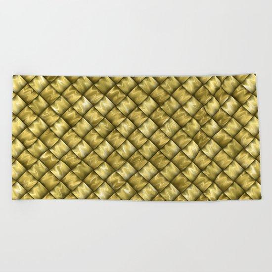 Patchwork Gold Beach Towel