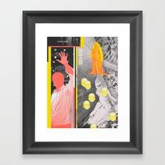Talking Corpse Framed Art Print