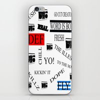 80s iPhone & iPod Skins featuring 80s Baby! by Kimberly J Graphics