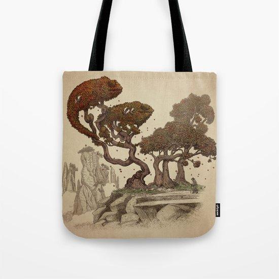 Autumn Chameleons  Tote Bag
