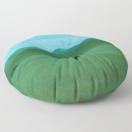 Keeping Distance Floor Pillow