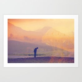 4 Exposure Art Print