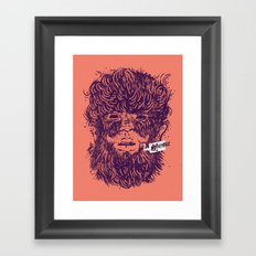 Movember Framed Art Print