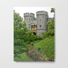 Castle Moat Metal Print