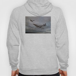 126 Squadron Spitfires Hoody