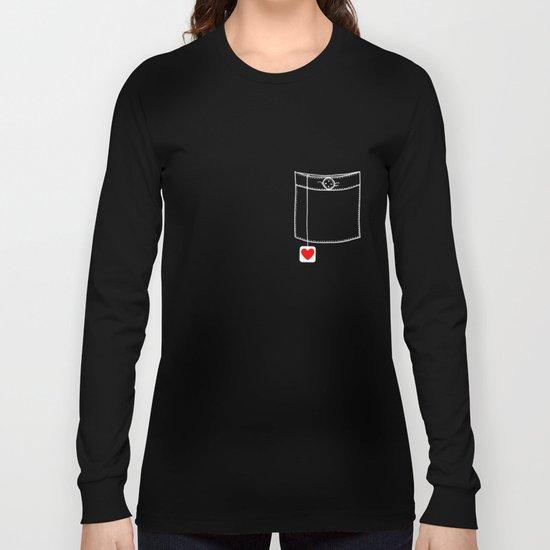 Pocket Full of Love Long Sleeve T-shirt