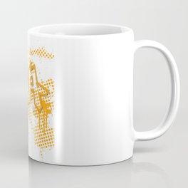 extra splash orange grafitti design Coffee Mug