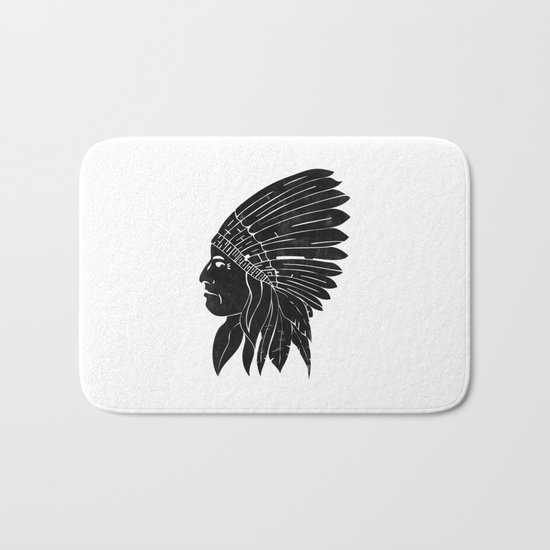 Chief / Black Edition Bath Mat