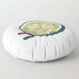 Japanese Food- Miso Soup Floor Pillow
