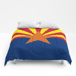 State flag of Arizona, Authentic HQ image Comforters