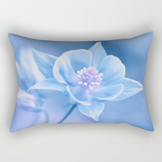 Columbine Flower 161 Rectangular Pillow