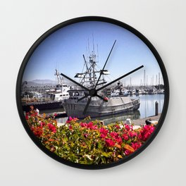 Relentless, Dana Point, California Wall Clock