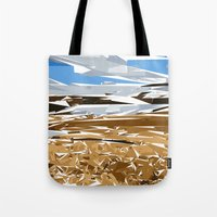 iceland Tote Bags featuring iceland by Matthias Hennig