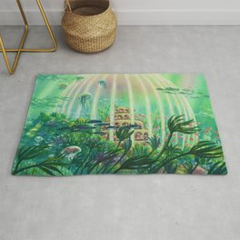 The Age of the Ocean  Rug