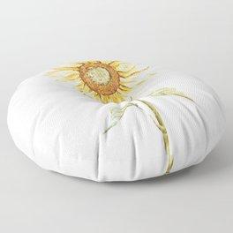 Sunflower 01 Floor Pillow