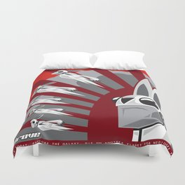 The Drove Propaganda  Duvet Cover