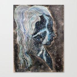 storm profile Canvas Print